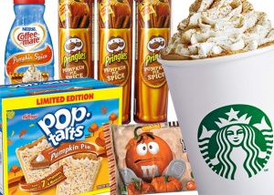 I'm just a girl...loving the pumpkin spice world.